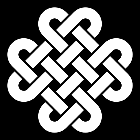 design icon: Celtic knot vector illustration