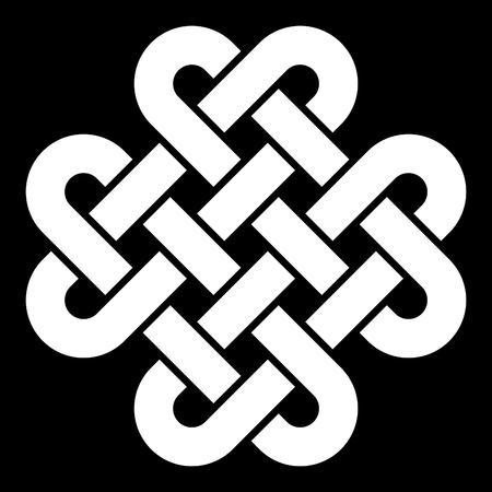keltische muster: Keltischer Knoten Vektor-Illustration