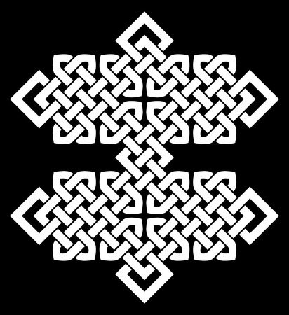 chinese knot: A Chinese knot illustration