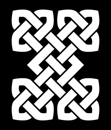 A Chinese knot illustration