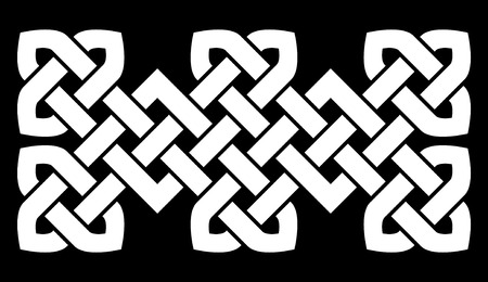 gaelic: A Chinese knot illustration