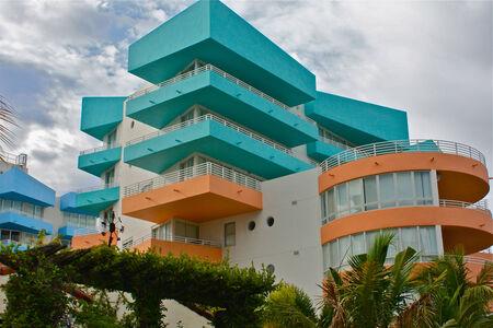 Art Deco building, South Beach, Miami
