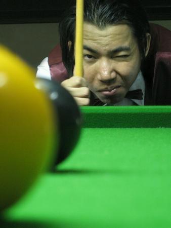 man: Snooker man