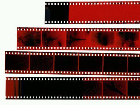 negative: Old film negative