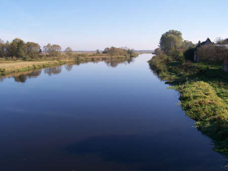 narew: Narew river  next to Tykocin Town