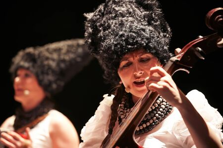 DakhaBrakha at solo concert at theater