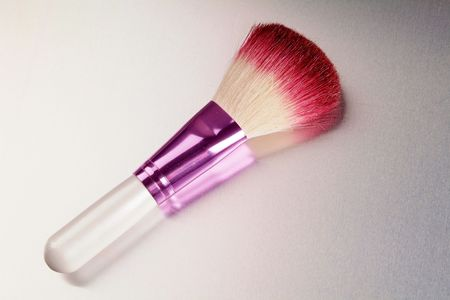 Female brush for powder drawing