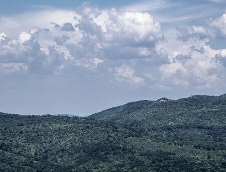 hillside: Hill-side Stock Photo