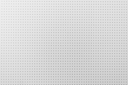 Background white plastic with pattern of points Stock Photo
