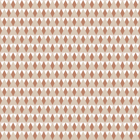 Seamless geometric pattern. Background with triangles in color live coral. Vector illustration.