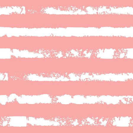 Seamless pattern with stripe. Forms printed in ink. Hand drawn.
