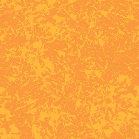 Seamless pattern with texture shelled surface. Background in orang colors. Grunge Ink and brush. Abstract Hand drawn. Vector illustration. 矢量图像
