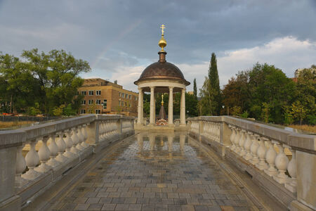 believers: Russia. Moscow. Beautiful views in the village of Old Believers. Stock Photo