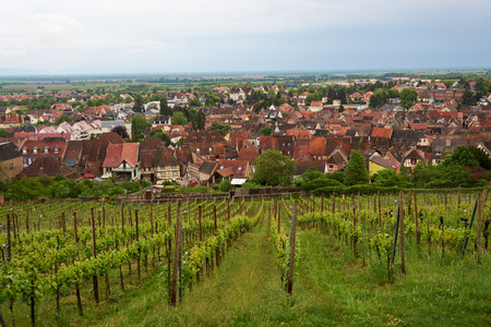 alsace: Beautiful city Barr Alsace in France