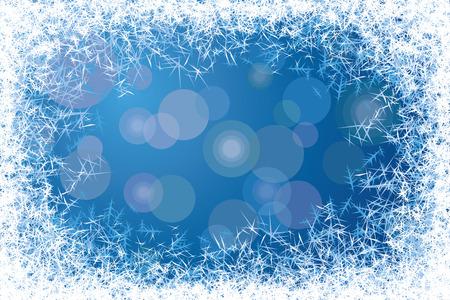 finestra: Blu satinato finestra. Vettoriali