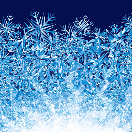 Blue winter background.