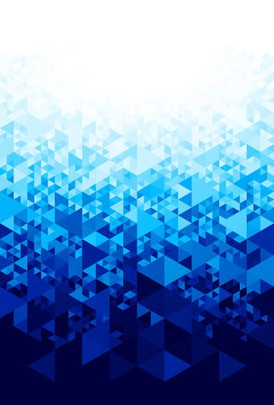 rime: Abstract blue background.