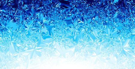 Blue winter background.  Ilustrace