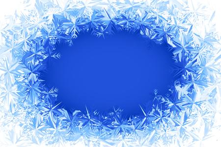 Bleu fenêtre givrée. Eps8. RVB. Couleurs globales. Gradients utilisés. Banque d'images - 32252156