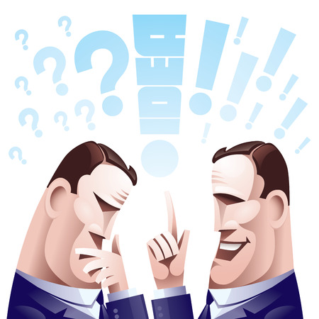 solver: Two hard thinking men.