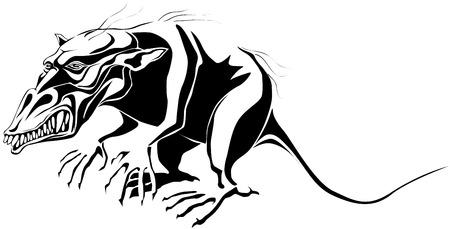 speculative: Mutant rat monster.
