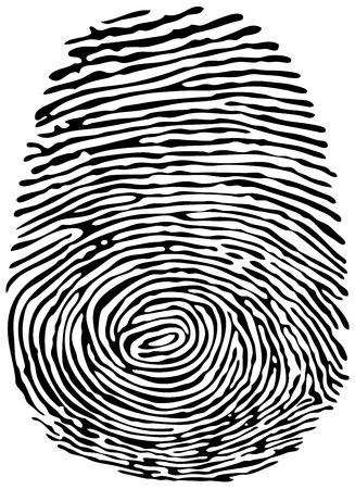 Vector Thumb Print. Eps8. Фото со стока - 32804376