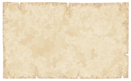 brown rice: Old paper isolated on white.