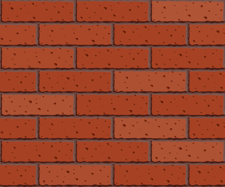 photographic effects: Brick wall. Seamless pattern. Eps8. CMYK. Organized by layers. Global colors. Gradients used Illustration