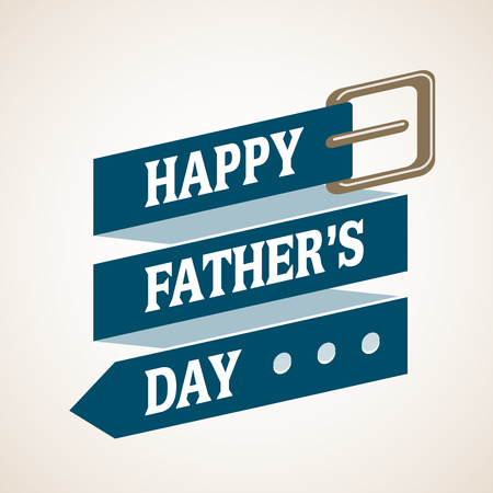 fathers day background: Happy Fathers Day. Eps8. RGB. Global colors