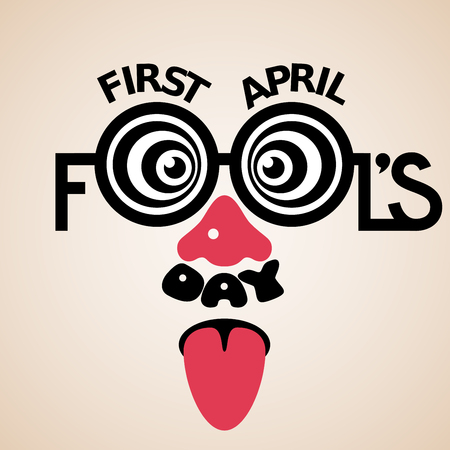 first day: First April Fools Day text.