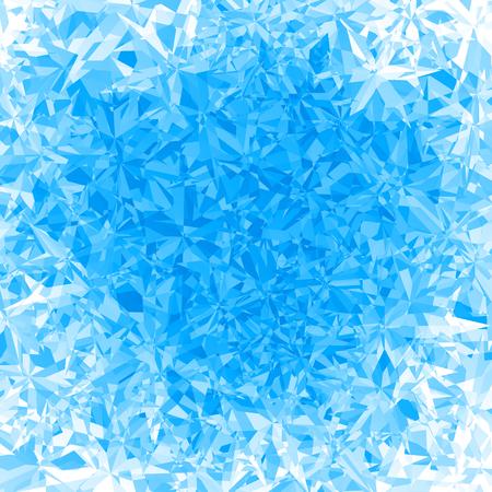 Vector blauw ijs achtergrond. Eps8. RGB Global kleuren Stock Illustratie