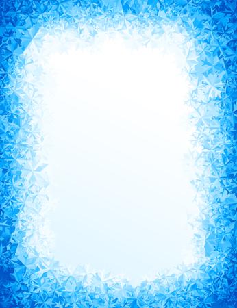 Vector blauw ijs achtergrond. Eps8. RGB Global kleuren