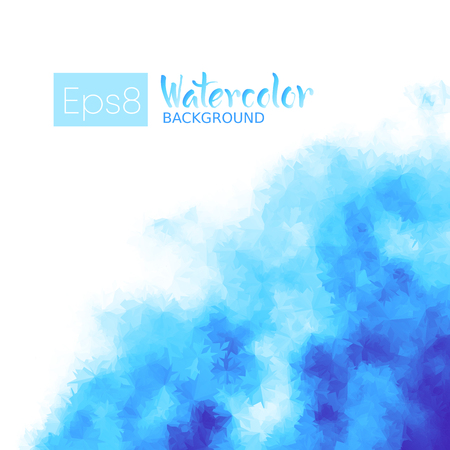 gradient background: Imitation of watercolor background. Eps8. RGB. Global colors. One simple editable gradient used