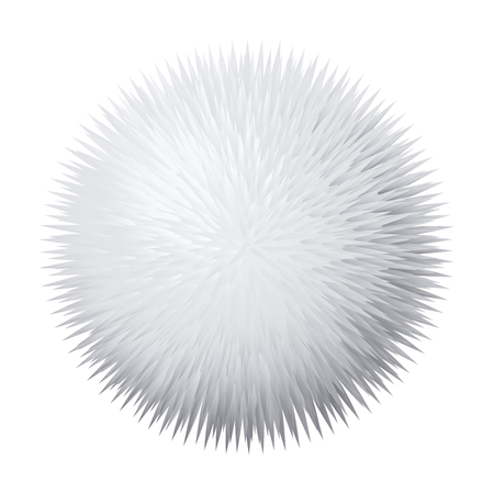Vector fur pompon