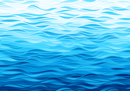 Blue waves background Banco de Imagens - 87709757