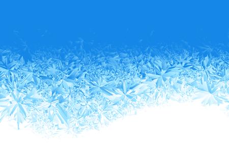 hiver bleu gel de neige fond
