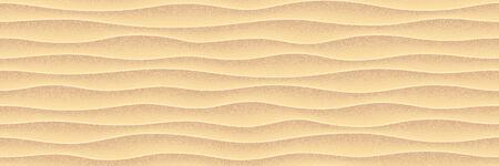 Sea yellow sand. Vector seamless pattern