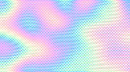 Abstract holographic background. RGB. Global colors. One line gradient used