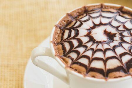 mocha: Mocha coffee in morning