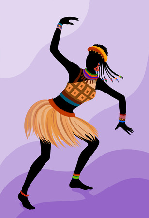 103 A Tambourine Dancer Stock Vector Illustration And
