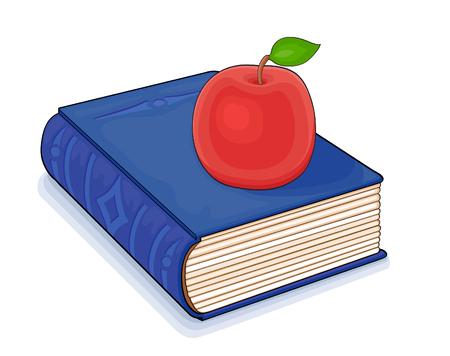 rarity: Fairy red apple on the magic book
