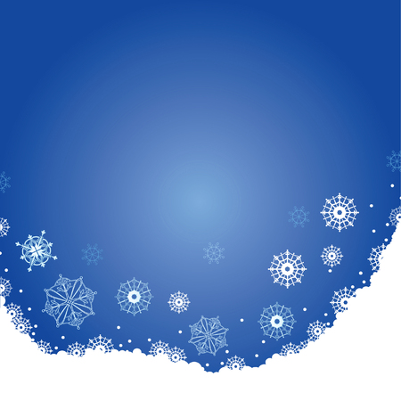 flutter: Backgrounds with Christmas snow. Sparkling snowflakes flutter for congratulations