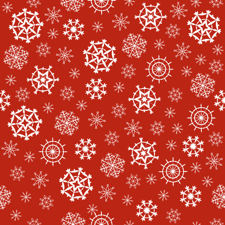 flutter: Backgrounds with Christmas snow. White snowflakes flutter for congratulations