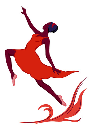 moves: Plastic body of the girl moves boldly and eloquently. Expressive dance reveals the beauty of the human in motion