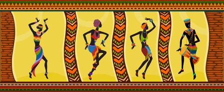 Gente exótica danza libre. Ritual absorber estas personas completamente y entra en trance. La unidad con la naturaleza y el medio ambiente en sus vidas, revela su belleza y aporta a sus vidas vacaciones Foto de archivo - 35956054