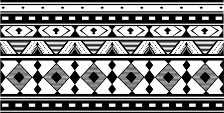 to incorporate: Geometric patterns in ethnic style