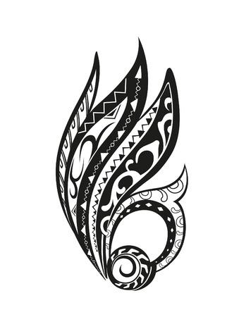 maories: Elemento en forma libre hecha en el vector. Tarjetas perfectas para cualquier otro tipo de dise�o