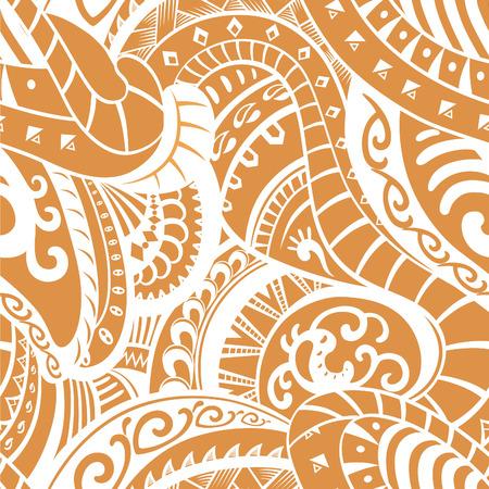 maories: Elementos de este modelo hecho en el estilo de la tribu maor�. Se representa en el vector