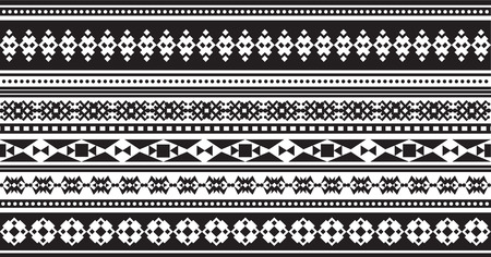 incorporate: Geometric patterns in ethnic style