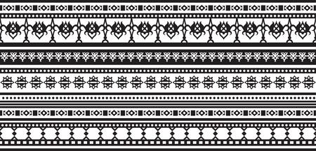 waistcoat: Geometric patterns in ethnic style